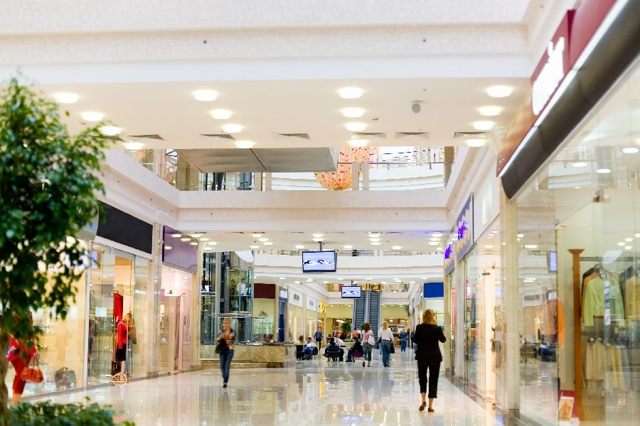 The Rise of Malls and Mall Advertising