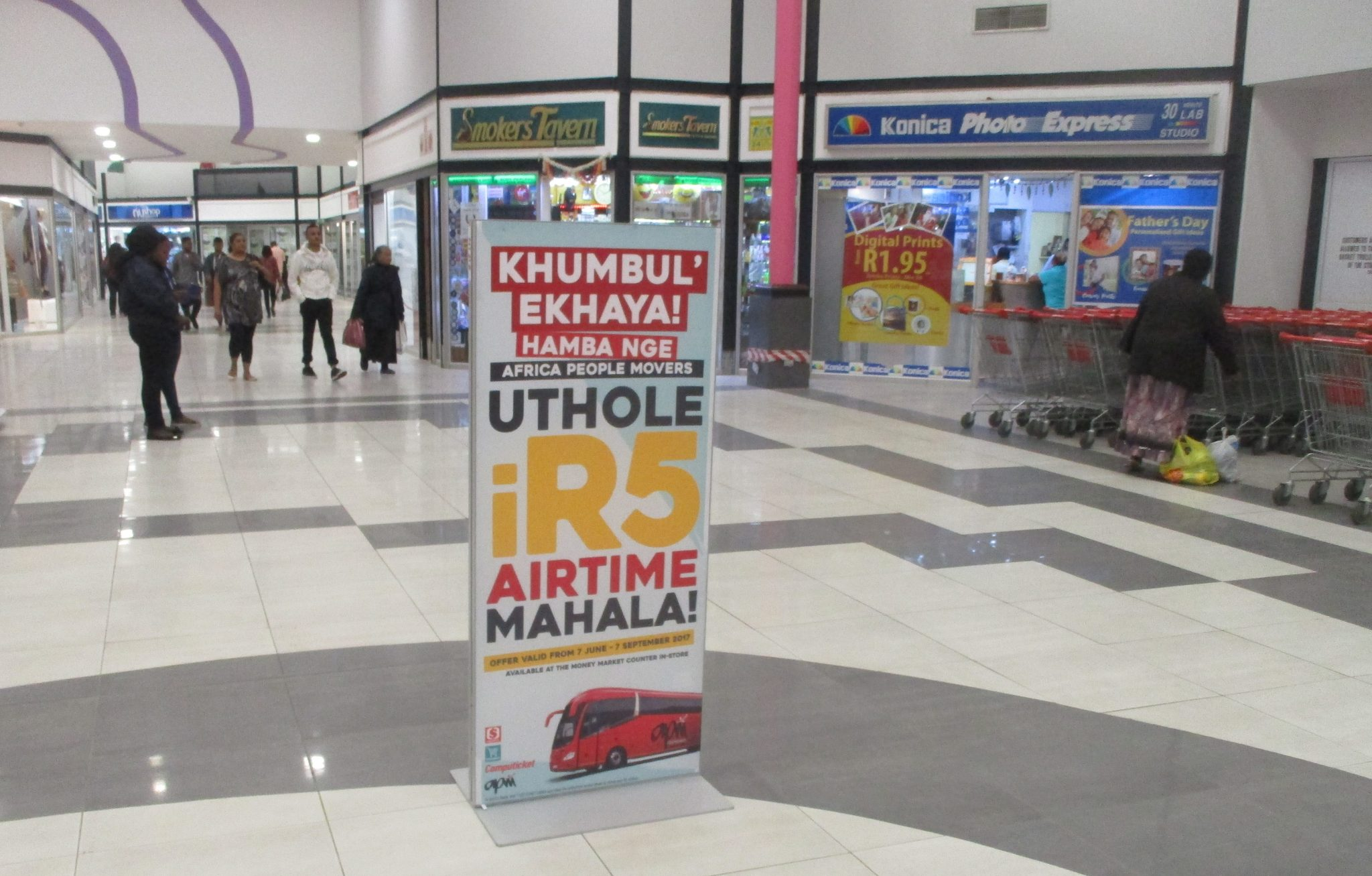 Mall Ads implements multi-mall Campaign for Africa People Movers