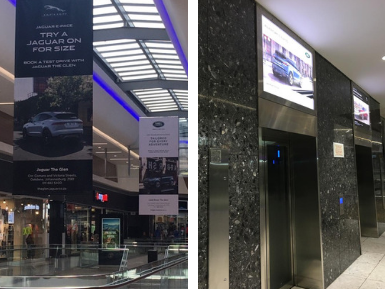 Land Rover and Jaguar partner with Mall Ads to drive vehicle sales